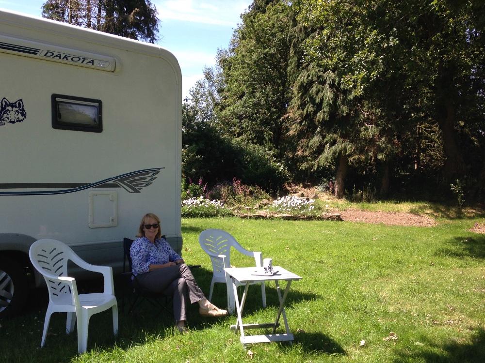 Aire camping-car à Poullaouen (29246) - Photo 9